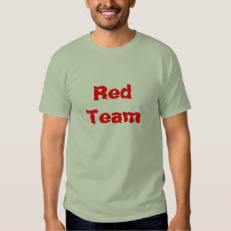 Red Team Paintball Tee Shirts