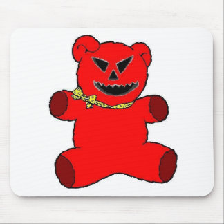 Red Teddy Mouse Pad