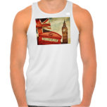 Red telephone booth and Big Ben in London, England Tshirts