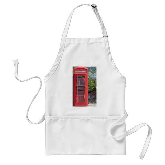 Red Telephone box Adult Apron