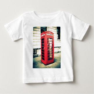 red telephone box baby T-Shirt