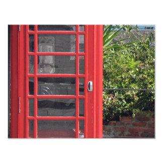 Red Telephone box Card