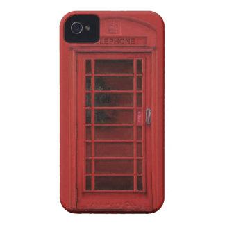 Red telephone box iPhone 4 Case-Mate case