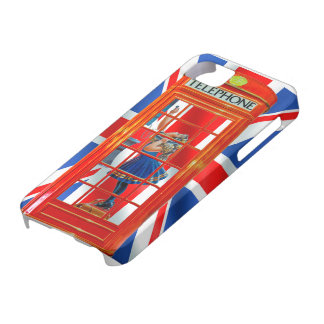 Red Telephone Box for iPhone 5 case