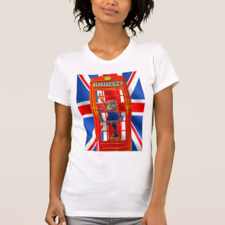 Red Telephone Box for women's t-shirt