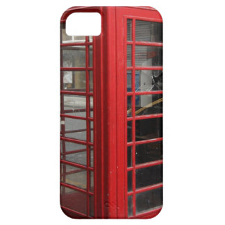 Red Telephone Box Illusion iPhone 5 Covers