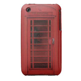 Red telephone box iPhone 3 case