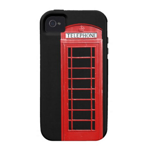 Red Telephone Box iPhone Case Vibe iPhone 4 Case