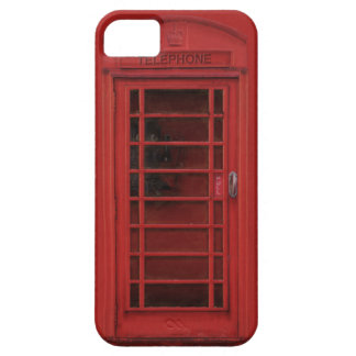 Red telephone box iPhone SE/5/5s case