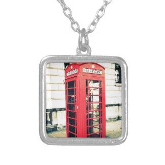red telephone box pendants