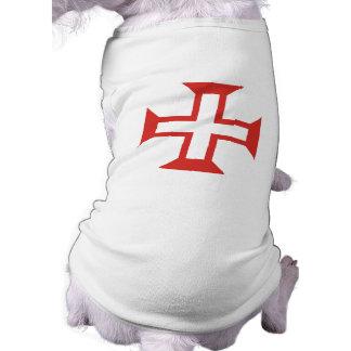 Red Templar Cross Pet Clothes