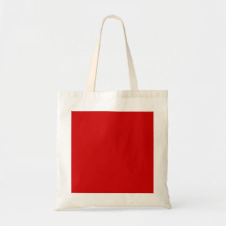 Red Template Budget Tote Bag