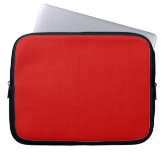 Red Template Laptop Computer Sleeve