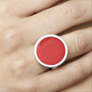 Red Template Photo Ring
