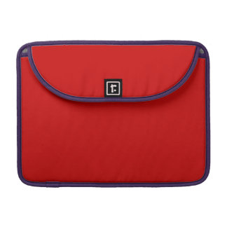 Red Template Sleeves For MacBooks