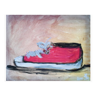 red_tennis_shoe.jpg postcard