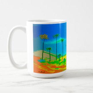 Red Terrain Coffee Mug