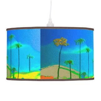 Red Terrain Pendant Lamp