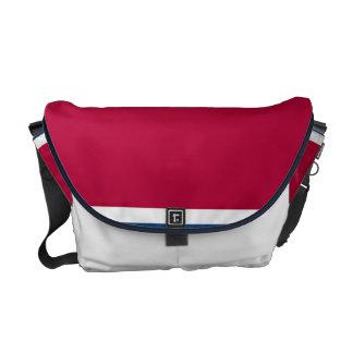 Red Tex Messenger Bag