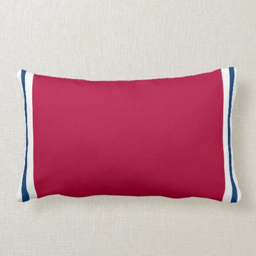 Red Tex Throw Pillow