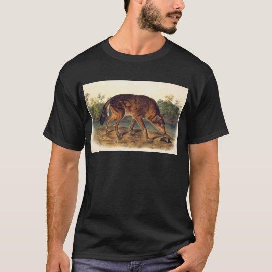Red Texan Wolf T-Shirt
