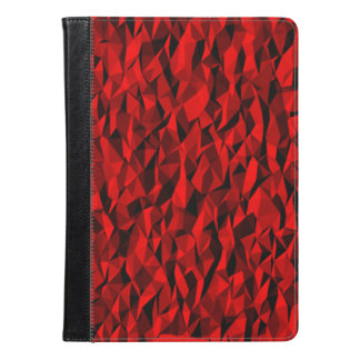 red texture cool pattern iPad air case