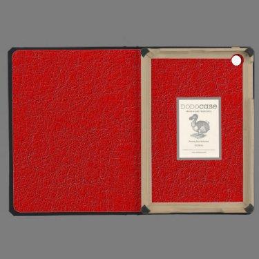 red texture iPad mini cover