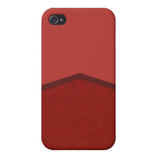 Red texture point iPhone 4 cases