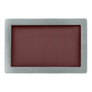 Red texture rectangular belt buckle