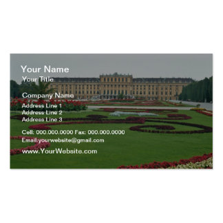 Red The Shonbrunn Castle of the Habsburgs, Vienna, Business Cards