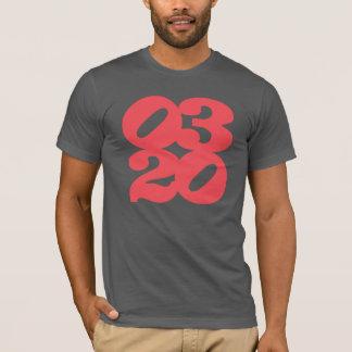 red threetwenty logo on slate T-Shirt