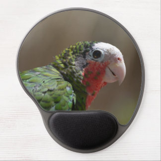 Red Throated Conure Gel Mouse Pad