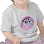 red-tiburón-rosado camiseta