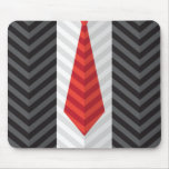 Red Tie Mouse Pad