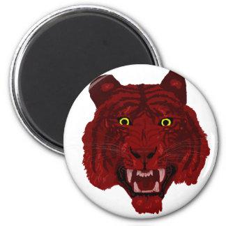 Red Tiger Magnet