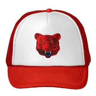 Red Tiger Trucker Hat