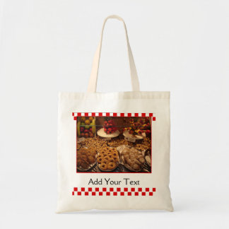 Red Tile Desserts Canvas Bags
