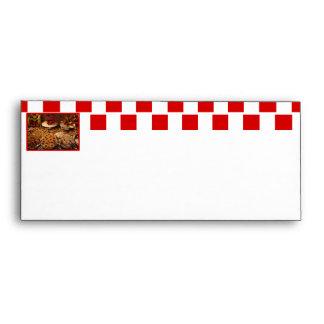 Red Tile Desserts Envelopes