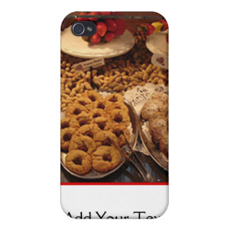 Red Tile Desserts iPhone 4/4S Case