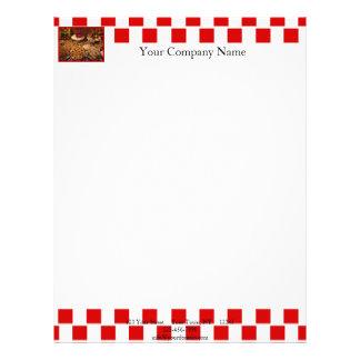 Red Tile Desserts Letterhead