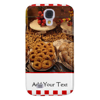 Red Tile Desserts Samsung Galaxy S4 Cover