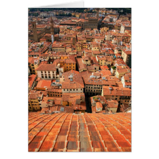 Red Tile Rooftops Card