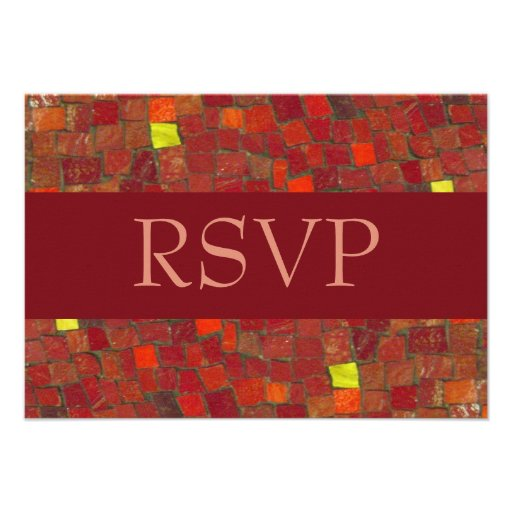 Red Tile RSVP Announcements