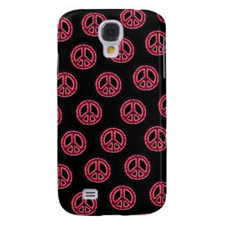 Red Tiled Peace IPhone 3 Case