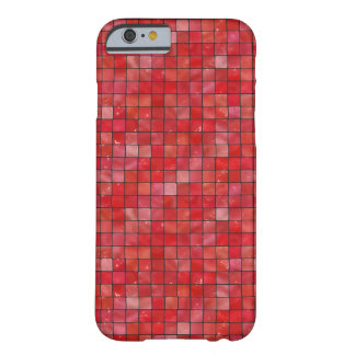 Red Tiles Barely There iPhone 6 Case