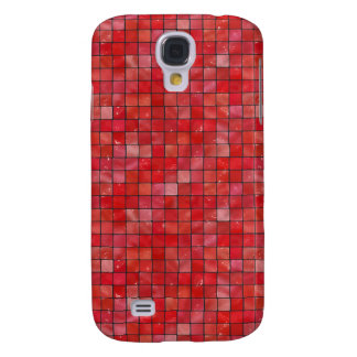 Red Tiles Samsung S4 Case