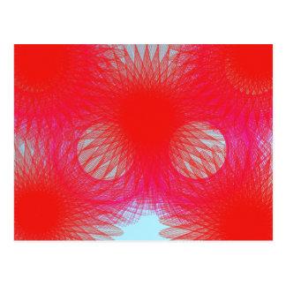 red tinkering postcard