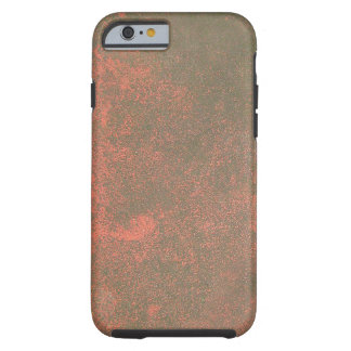 Red Tinted Rust Texture Background Tough iPhone 6 Case