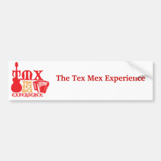Red TMX Bumper Sticker