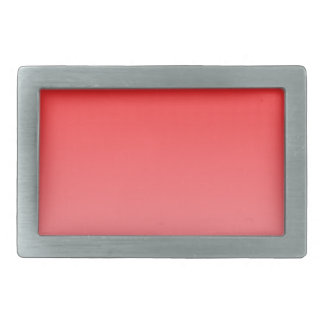 Red to Pink Horizontal Gradient Belt Buckle